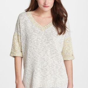 LAFAYETTE 148 c Medium Fresco Sweater Chunky Knit